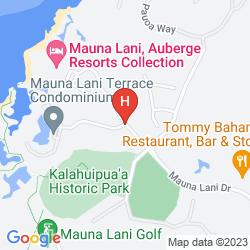 Karte MAUNA LANI TERRACE CONDOMINIUM