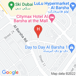 Karte ARABIAN GULF HOTEL APARTMENTS AL BARSHA