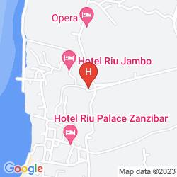 Karte DIAMONDS STAR OF THE EAST ZANZIBAR - ALL INCLUSIVE