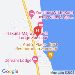 Karte KILIMA KIDOGO GUEST HOUSE