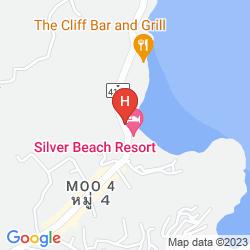 Karte CRYSTAL BAY YACHT CLUB