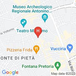 Karte PALAZZO MAZZARINO - MY EXTRA HOME