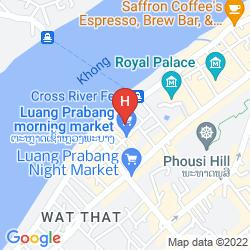 Karte LAO LU LODGE