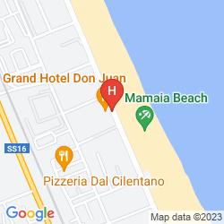 Karte GRAND HOTEL DON JUAN