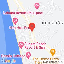 Karte SIRENA GUEST HOUSE