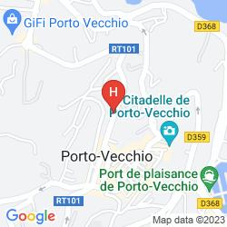 Karte RÉSIDENCE HÔTELIÈRE EN APARTÉ