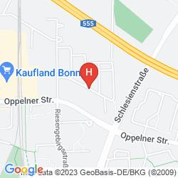 Karte ACORA HOTEL UND WOHNEN