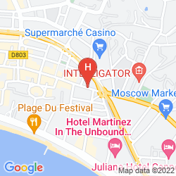 Karte DE FRANCE