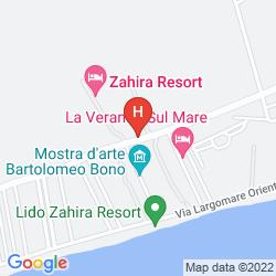 Karte ZAHIRA RESORT