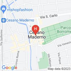 Karte PARCO BORROMEO