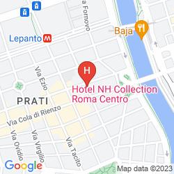 Karte SUITES FARNESE DESIGN HOTEL