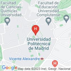 Karte PALACIO DEL RETIRO, AUTOGRAPH COLLECTION