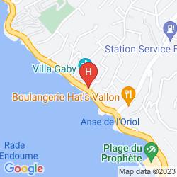 Karte NHOW MARSEILLE AT PALM BEACH