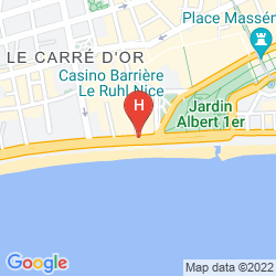 Karte LE MERIDIEN NICE