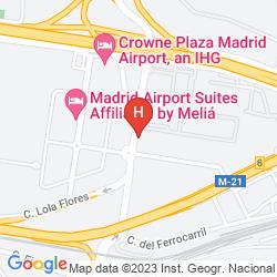 Karte AC HOTEL COSLADA AEROPUERTO