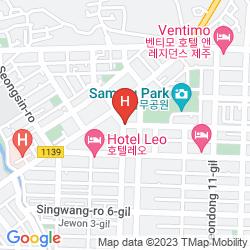 Karte HOTEL HARU