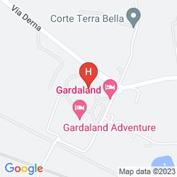 Karte GARDALAND