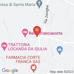 Karte RELAIS FRANCIACORTA