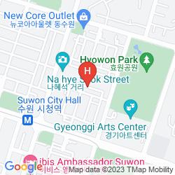 Karte ATHENAE HOTEL