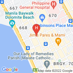 Karte VIEVE HOTEL