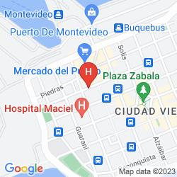 Karte PUERTO MERCADO