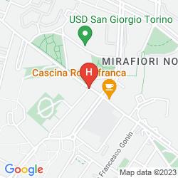 Karte IDEA HOTEL TORINO MIRAFIORI