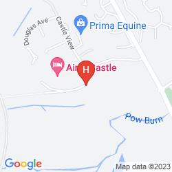 Karte AIRTH CASTLE HOTEL & SPA