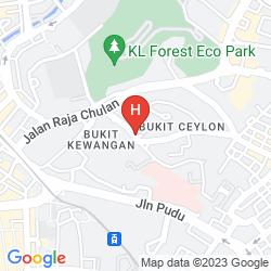 Karte SUASANA SUITES BUKIT CEYLON