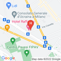 Karte BEST WESTERN HOTEL MIRAGE