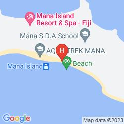 Karte RATU KINI BACKPACKERS & DIVE RESORT