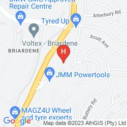 Karte PROTEA HOTEL EDWARD DURBAN
