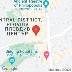 Karte IMPERIAL PLOVDIV HOTEL&SPA
