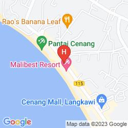 Karte MALI-MALI BEACH RESORT