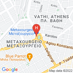 Karte WYNDHAM GRAND ATHENS