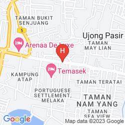 Karte THE SETTLEMENT HOTEL