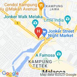 Karte VINZ BOUTIQUE HOTEL
