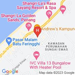 Karte FERRINGHI HERITAGE BUDGET HOTEL