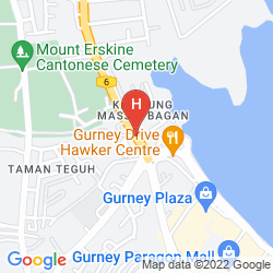 Karte QUBE HOTEL