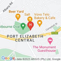 Karte PROTEA HOTEL MARINE