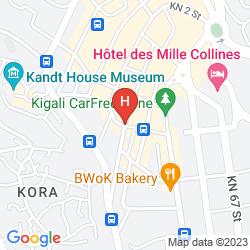 Karte GLORIA HOTEL
