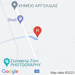 Karte NAFPLIA PALACE HOTEL & VILLAS