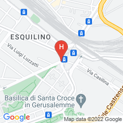 Karte SHG HOTEL PORTA MAGGIORE