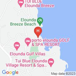 Karte PORTO ELOUNDA GOLF & SPA RESORT