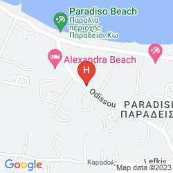 Karte YIANNIS APARTMENTS