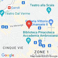 Karte WELCHOME2ITALY - NAVIGLI MILAN