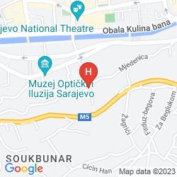 Karte RESIDENCE INN SARAJEVO