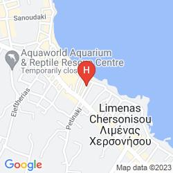 Karte GRETA APARTMENTS