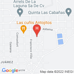 Karte FIESTA INN CIUDAD JUAREZ