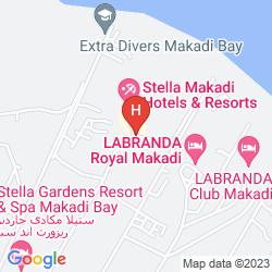 Karte STELLA MAKADI RESORT & SPA - ALL INCLUSIVE