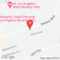 Karte KIMPTON HOTEL PALOMAR LOS ANGELES BEVERLY HILLS